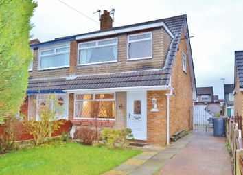 Thumbnail 3 bed semi-detached house for sale in Farnham Drive, Irlam, Manchester
