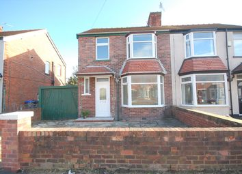 Thumbnail 3 bed semi-detached house for sale in Shetland Road, Blackpool