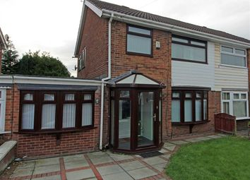 Thumbnail 3 bed semi-detached house for sale in Saxon Way, Kirkby, Liverpool