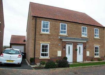 Thumbnail 3 bed semi-detached house for sale in Pinfold Road, Cayton, Scarborough, North Yorkshire
