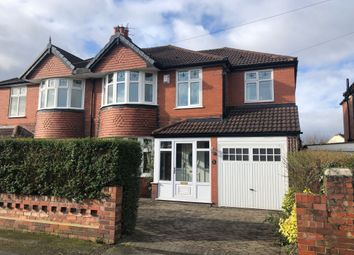 Thumbnail 5 bed semi-detached house for sale in Rutland Road, Hazel Grove, Stockport