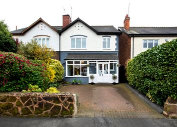 Thumbnail 3 bed semi-detached house for sale in Florence Road, Wylde Green, Sutton Coldfield