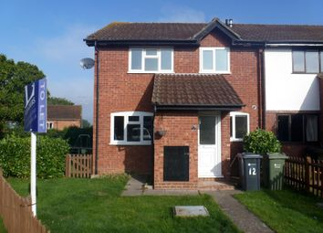 Thumbnail 2 bed end terrace house to rent in Woodger Close, Merrow Park, Guildford
