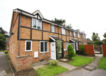 Thumbnail 1 bed end terrace house to rent in Hawthorn Close, Cranford