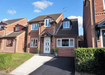 Thumbnail 4 bed detached house for sale in Stainmore Avenue, Leicester