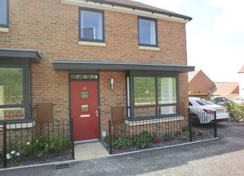 Thumbnail 3 bed end terrace house to rent in Giles Drive, Castle Hill, Ebbsfleet Valley