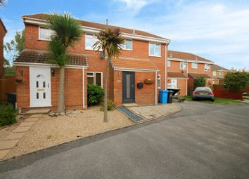 Thumbnail 3 bed semi-detached house for sale in Bovington Close, Canford Heath, Poole