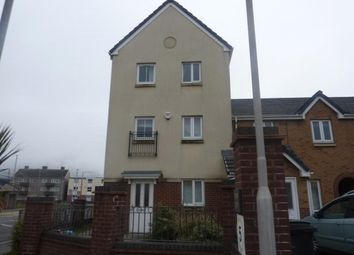 Thumbnail 4 bed town house to rent in Jersey Quay, Aberavon