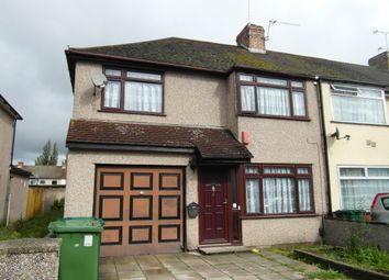 Thumbnail 4 bed end terrace house to rent in Osborne Avenue, Stanwell, Staines