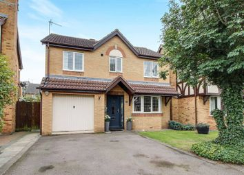 Thumbnail 4 bedroom detached house for sale in Barringer Way, St. Neots