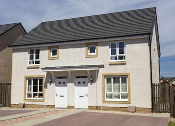 "Thumbnail 3 bed semi-detached house for sale in ""Cawdor"" at Kirkton North, Livingston"