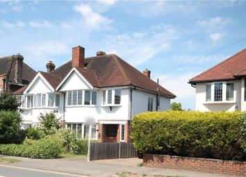 Thumbnail 3 bed semi-detached house for sale in Stoneleigh Park Road, Stoneleigh, Epsom