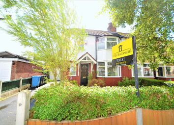 Thumbnail 3 bed semi-detached house to rent in Glen Avenue, Worsley, Manchester