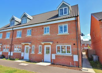 Thumbnail 4 bed end terrace house for sale in Hobart Lane, Aylsham, Norwich