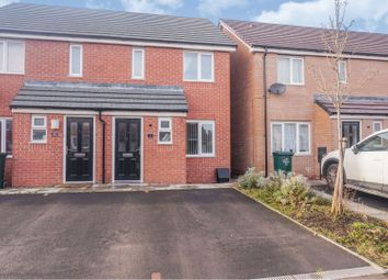 Thumbnail 2 bed semi-detached house for sale in Dunshaw Road, Coventry