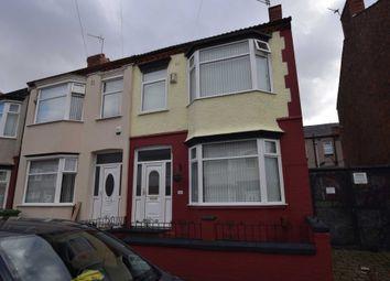 Thumbnail 3 bed end terrace house for sale in Southdale Road, Rock Ferry, Birkenhead