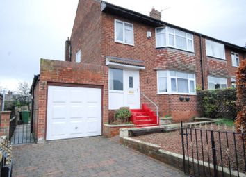 Thumbnail 3 bed semi-detached house for sale in Fellside Avenue, Sunniside, Newcastle Upon Tyne