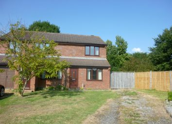 Thumbnail 2 bed semi-detached house to rent in Wiltshire Way, Westbury