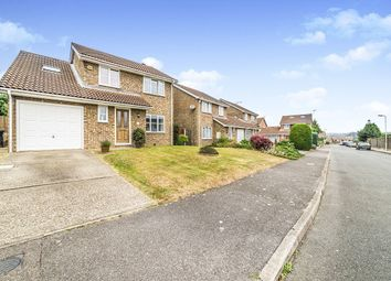 Thumbnail 4 bedroom detached house for sale in Manor Close, Canterbury
