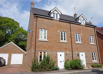 Thumbnail 4 bed semi-detached house for sale in Reed Close, Hassocks