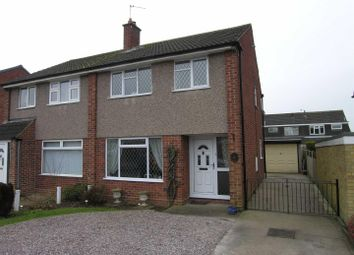 Thumbnail 3 bedroom semi-detached house for sale in Wigmore Close, Mickleover, Derby