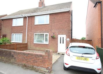 Thumbnail 3 bed semi-detached house for sale in Dawber Street, Worksop