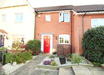 Thumbnail 2 bed terraced house for sale in Cedar Walk, Needham Market, Ipswich