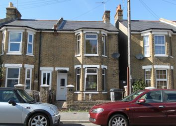 Thumbnail 3 bed end terrace house to rent in Downs Road, Deal