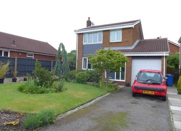 Thumbnail 3 bed detached house for sale in Keyes Close, Birchwood, Warrington