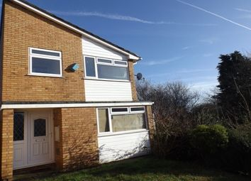Thumbnail 3 bed detached house to rent in Badgers Close, Leicester