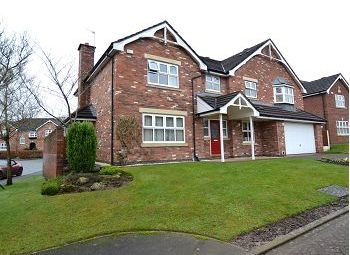 Thumbnail 5 bed detached house for sale in Walton Heath Drive, Tytherington, Macclesfield, Cheshire