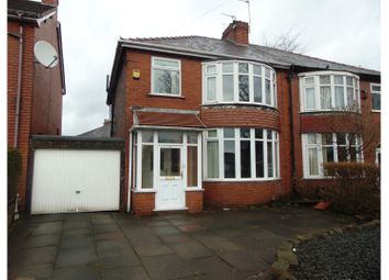 Thumbnail 3 bed semi-detached house for sale in Hollinwood Avenue, Oldham