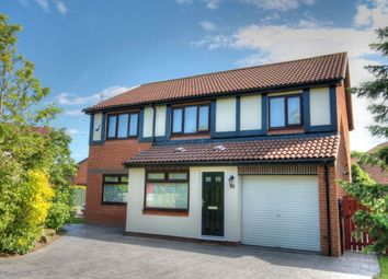 Thumbnail 4 bed detached house for sale in Canonsfield Close, Abbey Farm, Newcastle Upon Tyne
