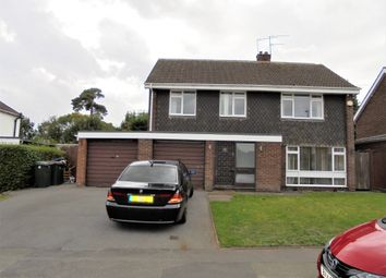 Thumbnail 4 bed detached house to rent in Knoll Drive, Coventry, West Midlands