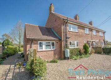 Thumbnail 3 bed semi-detached house for sale in Trunch Road, Swafield, North Walsham