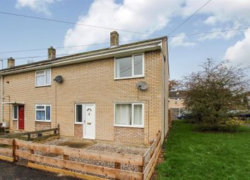 Thumbnail 2 bedroom end terrace house to rent in Spring Close, Huntingdon