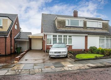 Thumbnail 3 bed semi-detached house for sale in Grange Farm Drive, Whickham, Newcastle Upon Tyne