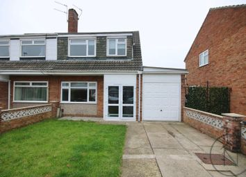 Thumbnail 3 bed semi-detached house to rent in Shearwater Avenue, Darlington