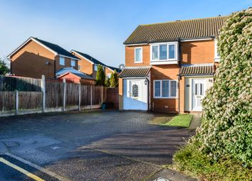 Thumbnail 2 bed detached house for sale in Barker Close, Lawford, Manningtree