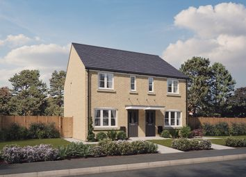 "Thumbnail 3 bed semi-detached house for sale in ""The Hanbury "" at Spetchley, Worcester"