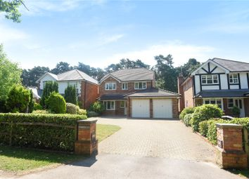 Thumbnail 4 bed detached house for sale in Tintagel Road, Finchampstead, Wokingham, Berkshire