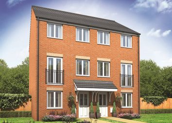 "Thumbnail 3 bed town house for sale in ""The Greyfriars"" at Haggerston Road, Blyth"