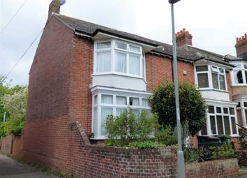 Thumbnail 3 bed end terrace house for sale in Old Castle Road, Weymouth