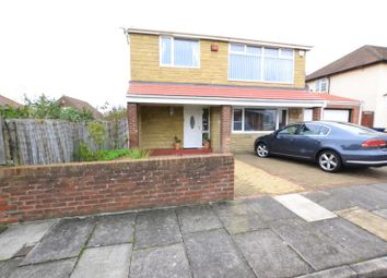 Thumbnail 4 bedroom detached house for sale in Boston Avenue, Longbenton, Newcastle Upon Tyne