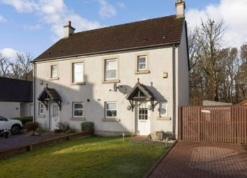 Thumbnail 3 bed semi-detached house for sale in Noddleburn Meadow, Largs, North Ayrshire, Scotland