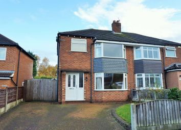 Thumbnail 3 bed semi-detached house for sale in Woking Road, Cheadle Hulme, Cheadle