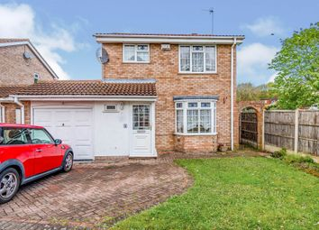 Thumbnail 3 bed detached house for sale in Wragby Close, Wolverhampton
