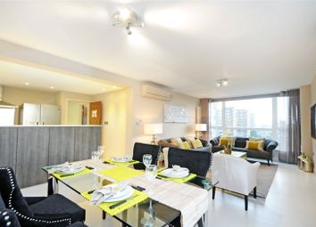 Thumbnail 3 bed flat to rent in Boydell Court, St. Johns Wood, London
