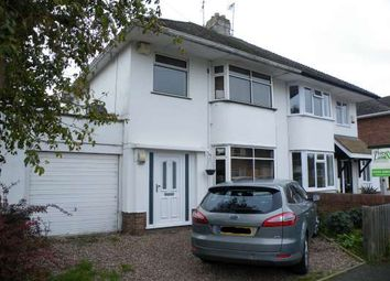 Thumbnail 3 bed semi-detached house to rent in Mary Armyne Road, Orton Longueville Village, Peterborough