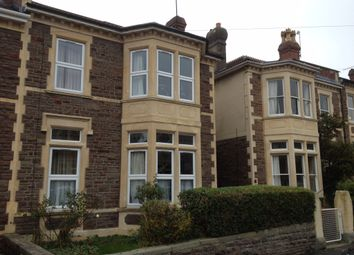 Thumbnail 3 bed flat to rent in Rokeby Ave, Redland, Bristol